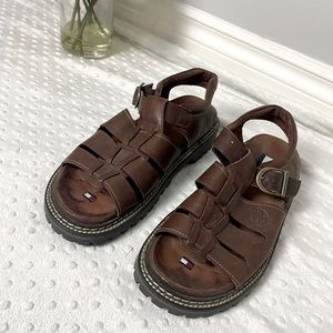 Vintage Tommy Hilfiger Men's Sandals (size 8.5)